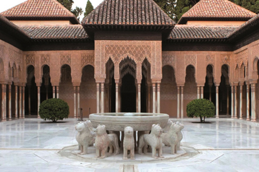 Patio de los Leones in Alhambra